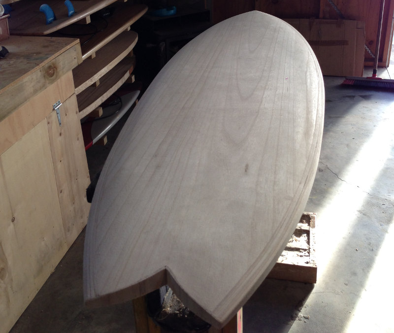 Make your own wooden surfboard with The Timber Board Shop's hollow frame kits