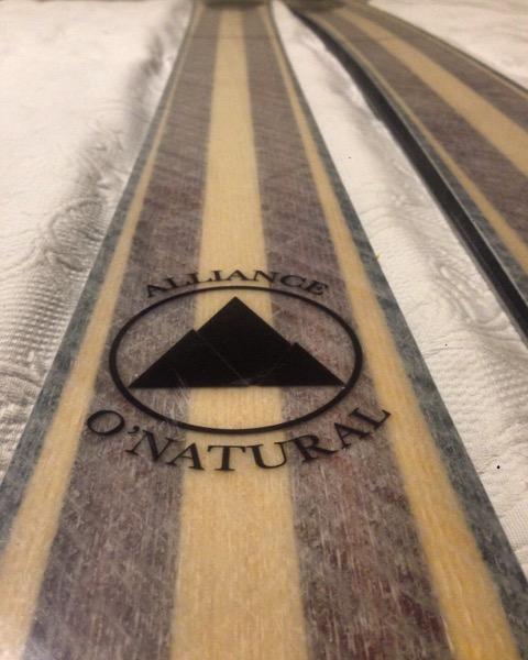 paulownia skis from alliance skis