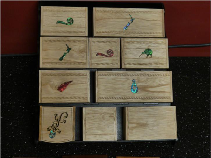 Paulownia boxes and coasters